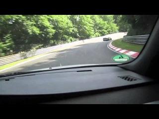 Nurburgring in BMW Ring Taxi with Sabine Schmitz
