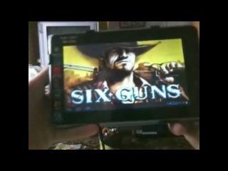 Тест игр на планшете teXet TM-7025 №6 SixGuns