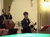 Гомель концерт в костёле 30 12 12 Вадим Левин (кларнет)