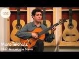 Marc Teicholz 1867 Antonio de Torres Classical Guitar at Guitar Salon International
