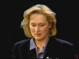 Meryl Streep Inside The Actors Studio 1998 part 3