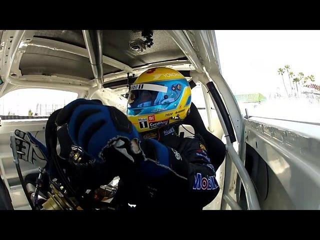 Tyler McQuarrie 2012 Formula D Long Beach Qualifying Run