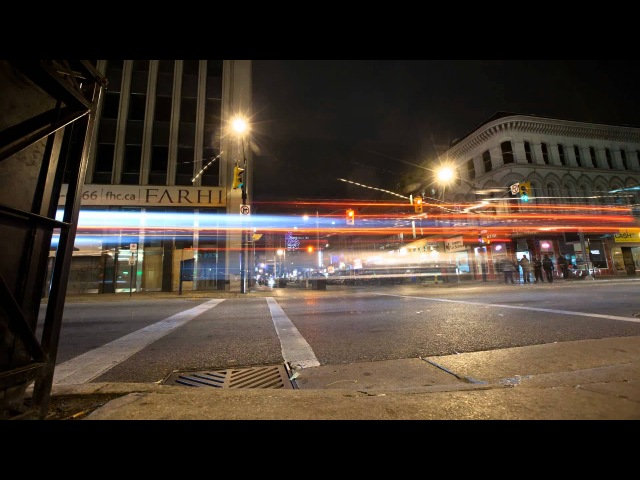 London at Night   Timelapse of London Ontario   StoryBox Productions