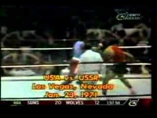 1971 USA - USSR Ron Lyle vs. Kamo Saroyan Amateur Bout