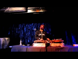 1- DJ Qbert & Reeps One @ Jazz Cafe London 13/02/12
