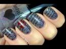 Love Letter! Konad nail art tutorial - Stamping nail design Image plate & nail polish and konad kit