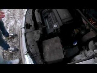 Маленький тест драйв Volkswagen Golf 4.MOV