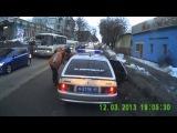 Авария на М.Жукова. Разбил машину и скрылся