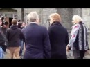 Jon Bon Jovi arrives at Slane Castle Oct 30 2012 on 98FM