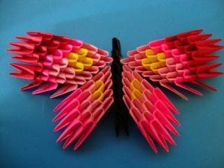 модульное оригами бабочка пошаговая инструкция - фото 7
