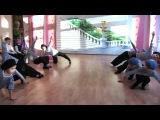 Бравый танец солдат - детский сад