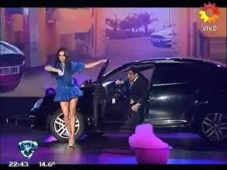 Magui Bravi Strip dance