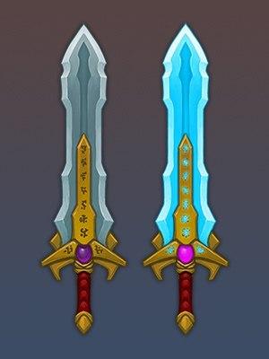Как сделать меч в орионе