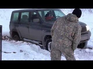 2014 01 25 Покатушки на УАЗе