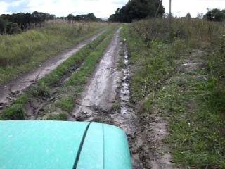 москвич 412 по грязи