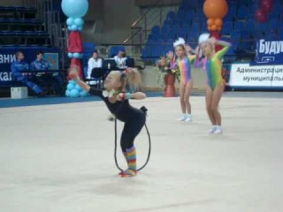 черный кот(показательные,художественная гимнастика)