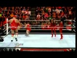 Brodus Clay and Hornswoggle vs Dolph Ziggler and Jack Swagger