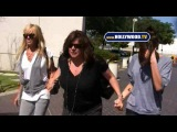 Dina And Ali Lohan Visit Lindsay Lohan In Jail