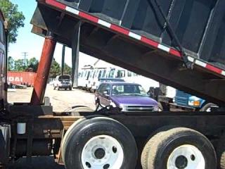 1999 Sterling Dump truck, VIN:2FZXKWYB8XAA76720, make of motor CAT#3306 10.5 liter, miles 165984,