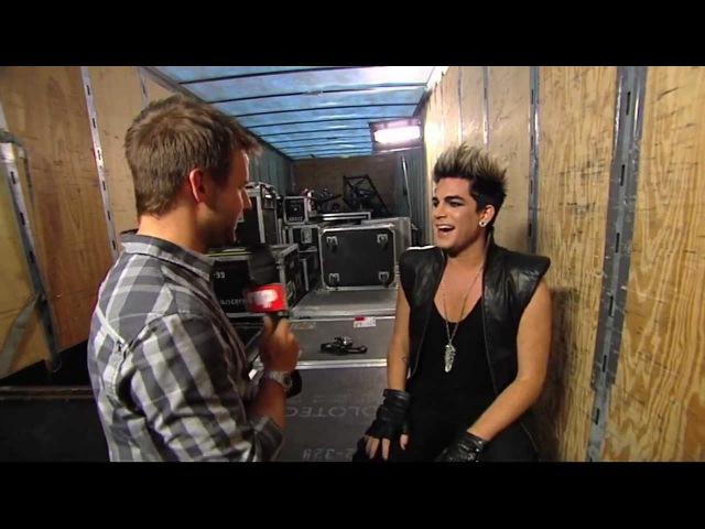 Adam Lambert teaser clip L'Univers MusiquePlus, Montreal (Ste Agathe)