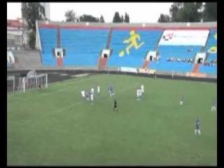 Гол В.Состина (Ротор) в ворота Динамо (Ставрополь)