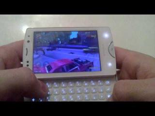 GTA III (for android) on Xperia Mini Pro