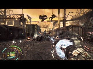 скачять:Hard Reset: Extended Edition Gameplay