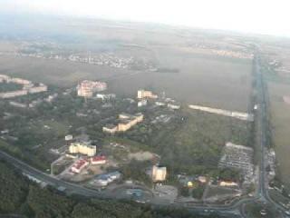 Політ на повітряній кулі над Тернополем