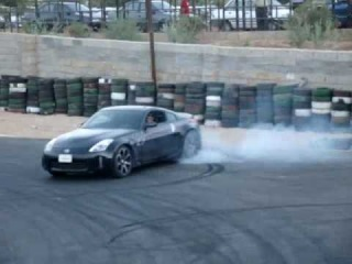 Nissan 350Z Burnout & Drift [Shiraz Iran]
