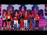 The X Factor 2009 - The Finalists Walk This Way - Live Results 4 (itv.comxfactor)
