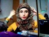 Hijab Tutorial: small crinkle scarf & OOTD