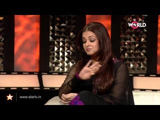 Айшвария Рай-Баччан на телепередаче с Анупамой Чопрой