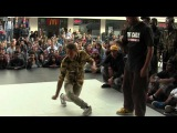 Funkin Stylez Benelux 2012 || HipHop Final  || Baloo vs Paradox  || HipHopLab040 x Tha5elements ||
