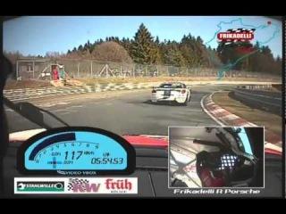 VLN 01 2011 Sabine Schmitz Frikadelli Racing Team