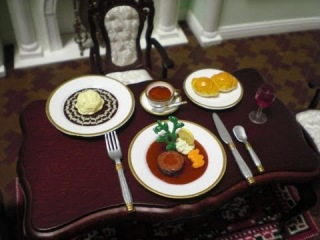 RE-MENT miniature collection #6 - European / Chinese food