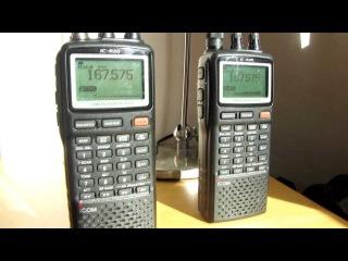 Double Icom IC R20