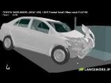 LS-DYNA Sample Model No.260 Frontal Small Overlap Crash Test