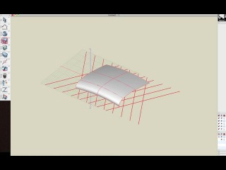Methodcast 5 - Creating Criss Cross Structures Under a Complex Curving Roof