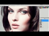 Tutorial Photoshop CS5 - Efeito Dragan (Dragan effect) Уроки Фотошоп