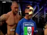 Santino Marella Imitates Batista and then....