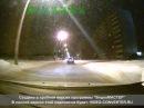 сбил автобус девушку в Омске 25.01.2013