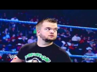 WWE Smackdown 1/6/2012 Hornswoggle vs. Heath Slater