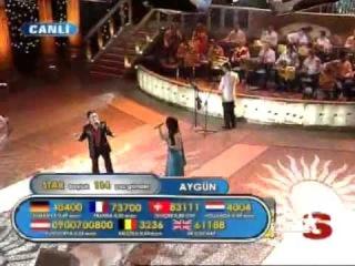 Aygun & Gokhan 23.03.08 popstar alaturka www.timomusic.ch