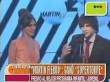 AM  Martin Fierro Gano,'Super Torpe' Candela y Pablo 2012