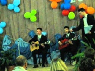Выпускная песня - Лёша, Гриша..)))..2012