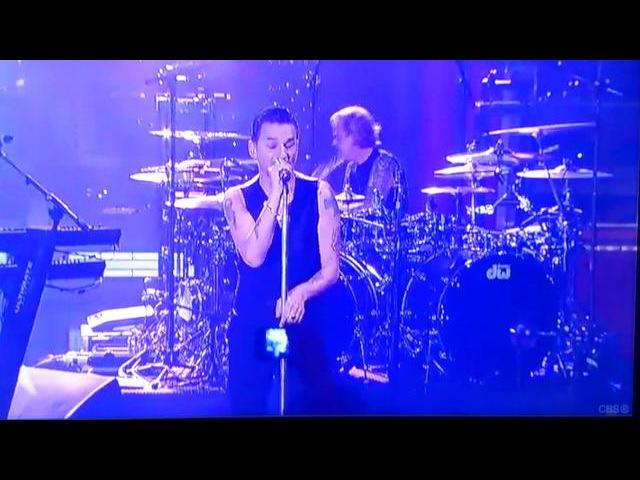 Depeche Mode -Personal Jesus @ Live On Letterman (03.11.2013)