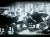 Шуберт - Трио. Яша Хейфец-скрипка, Артур Рубинштейн- фортепиано, Григорий Пятигорский - виолончель.