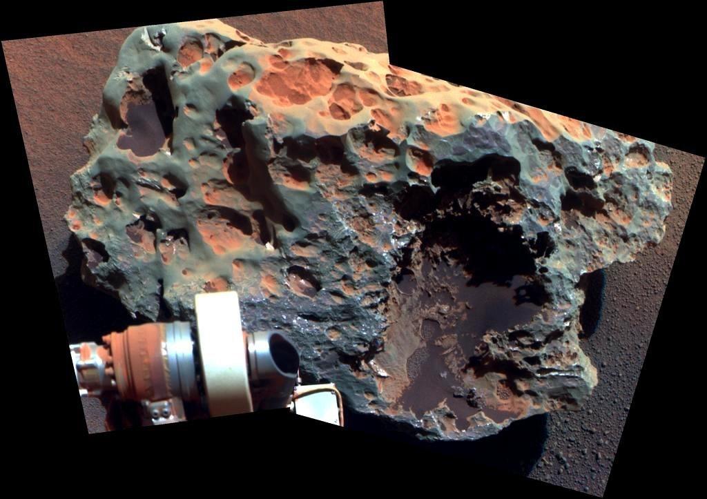 Голова Нессі на Марсі?