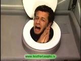 Голова в туалеті!!! Відео приколи