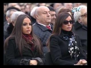 Bakıda Novruz bayramı münasibətilə ümumxalq şənliyi keçirilmişdir
